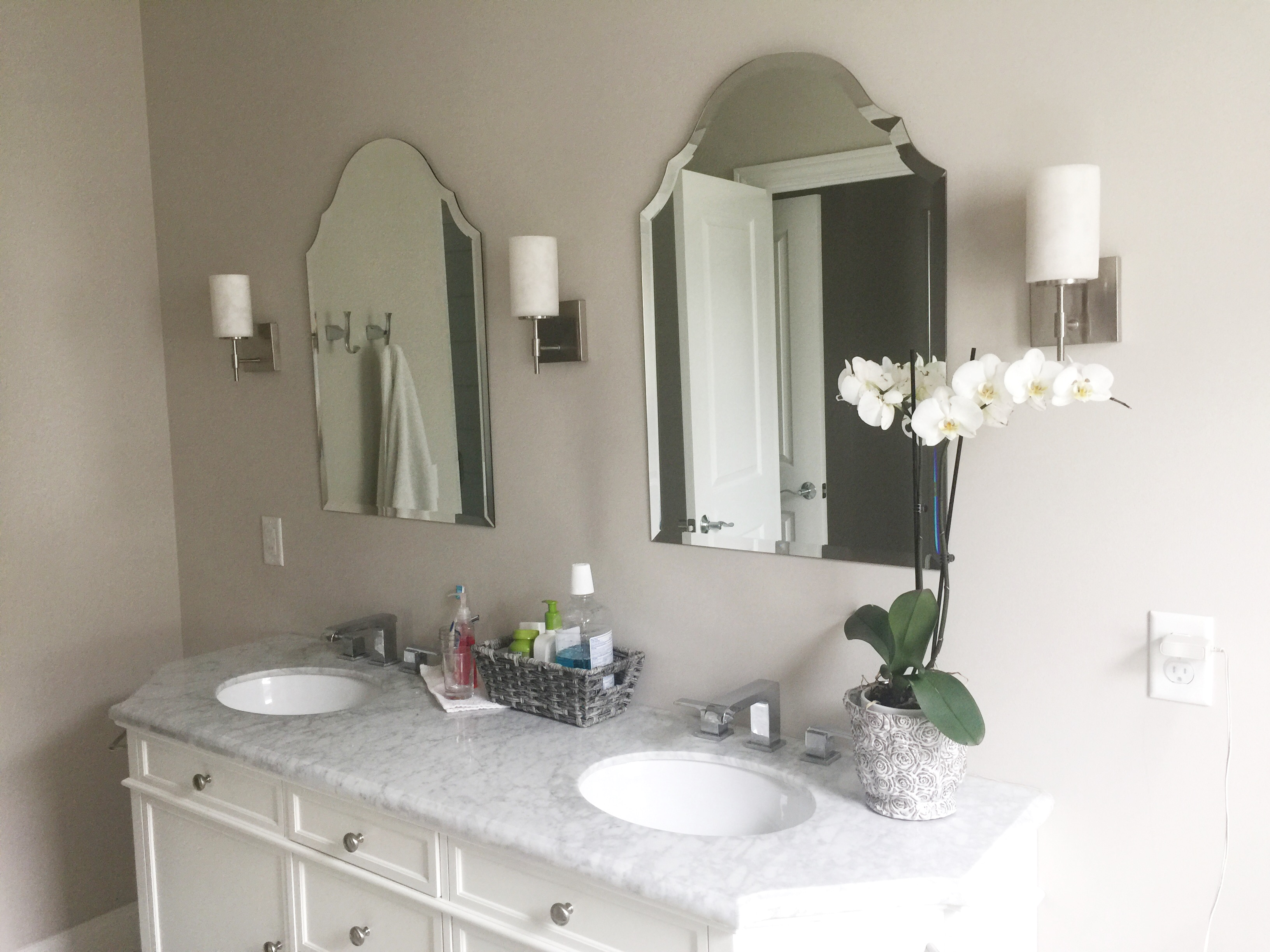 Deciding On A Master Bathroom Vanity Gathering Of Lines